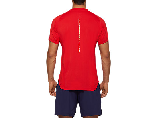 TENNIS SHORT SLEEVES TEE CLASSIC RED