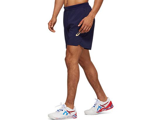 網球運動7英寸短褲 PEACOAT