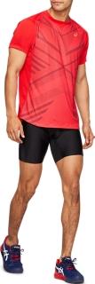 男式運動緊身短褲