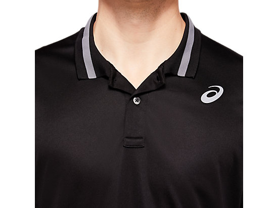 網球運動POLO衫 PERFORMANCE BLACK