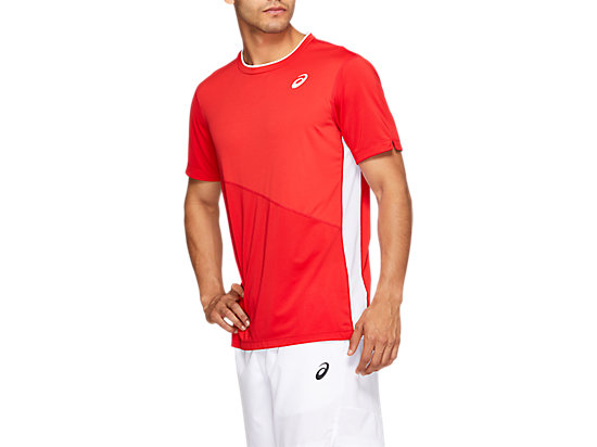 網球運動短袖T恤 CLASSIC RED