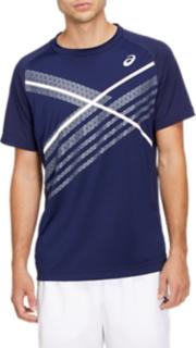 網球運動印花短袖T恤