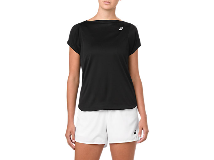 Women's PRACTICE SS TOP | PERFORMANCE BLACK | Camisetas de ...