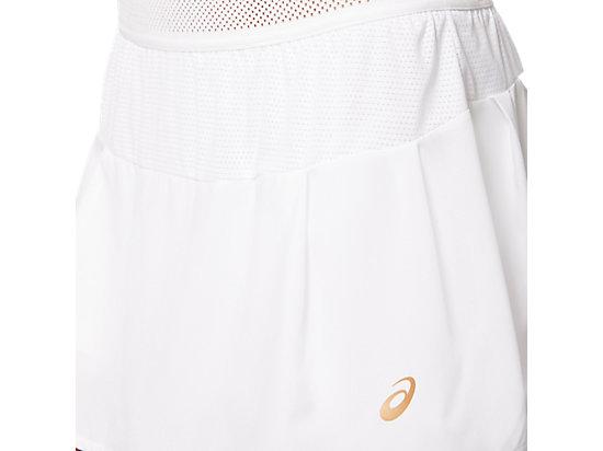 網球運動短裙 BRILLIANT WHITE