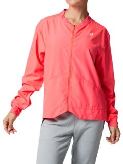 asics women's woven jacket
