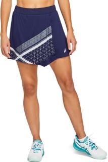 網球運動印花短裙