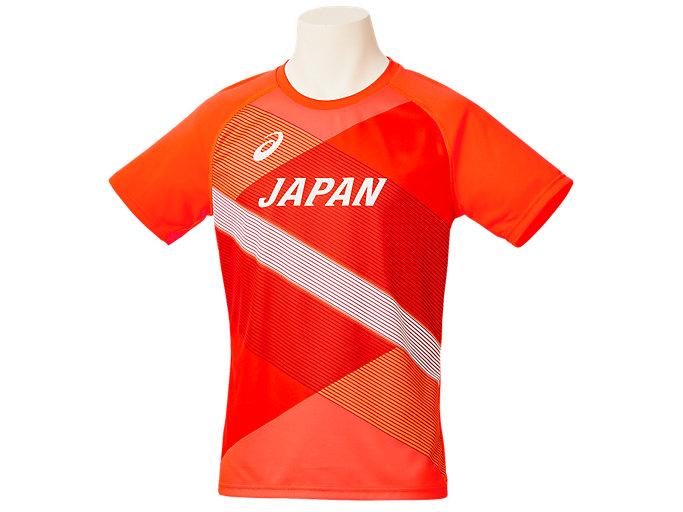 Alternative image view of 陸上日本代表レプリカTシャツ, サンライズレッド