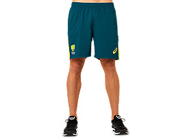 "CRICKET AUSTRALIA REPLICA TRAINING SHORTS (6"")"