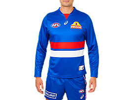 WESTERN BULLDOGS REPLICA HOME GUERNSEY LONG SLEEVE