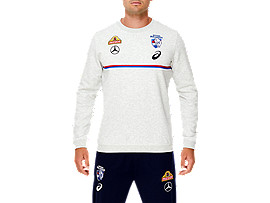 WESTERN BULLDOGS REPLICA PULLOVER CREW SWEATER