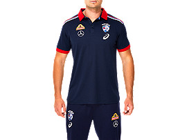 WESTERN BULLDOGS REPLICA MEDIA POLO