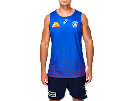 WESTERN BULLDOGS REPLICA TRAINING SINGLET