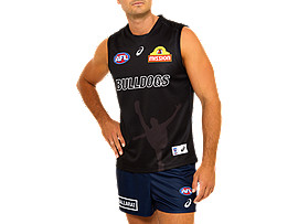 WESTERN BULLDOGS REPLICA TRAINING GUERNSEY