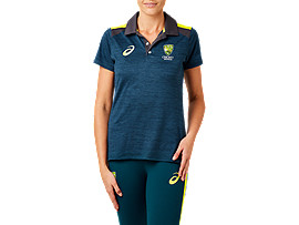 CRICKET AUSTRALIA REPLICA TRAVEL POLO (W)