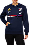 WESTERN BULLDOGS REPLICA WOMENS TRAINING HOODIE