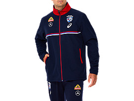 WESTERN BULLDOGS REPLICA TRAVEL JACKET - UNISEX
