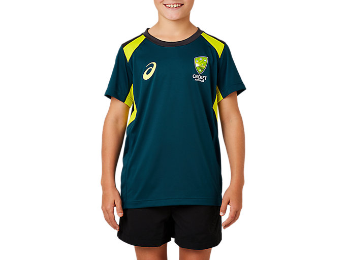 Alternative image view of CRICKET AUSTRALIA REPLICA TRAINING TEE