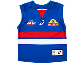 WESTERN BULLDOGS REPLICA HOME GUERNSEY INFANT