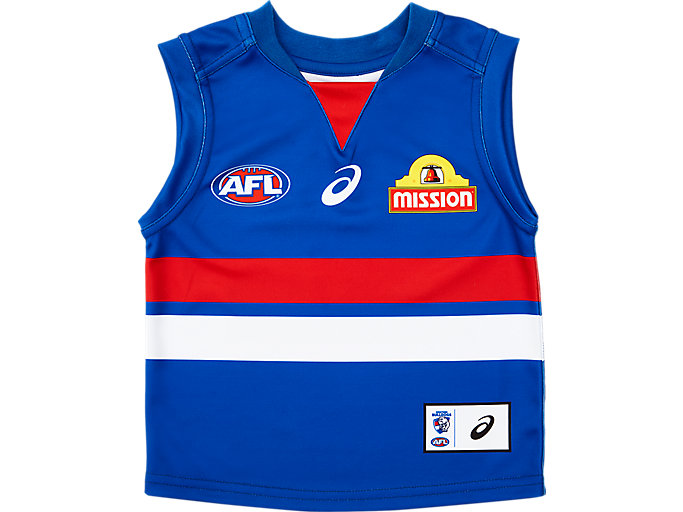 Alternative image view of WESTERN BULLDOGS REPLICA HOME GUERNSEY INFANT