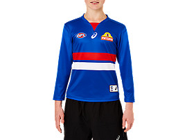 WESTERN BULLDOGS REPLICA HOME GUERNSEY LONG SLEEVE YOUTH