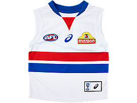 WESTERN BULLDOGS REPLICA CLASH GUERNSEY INFANT