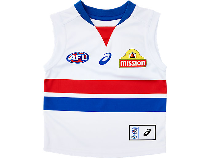 Alternative image view of WESTERN BULLDOGS REPLICA CLASH GUERNSEY INFANT