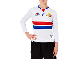 WESTERN BULLDOGS REPLICA CLASH GUERNSEY LONG SLEEVE YOUTH