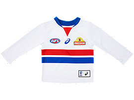 WESTERN BULLDOGS REPLICA CLASH GUERNSEY LONG SLEEVE INFANT