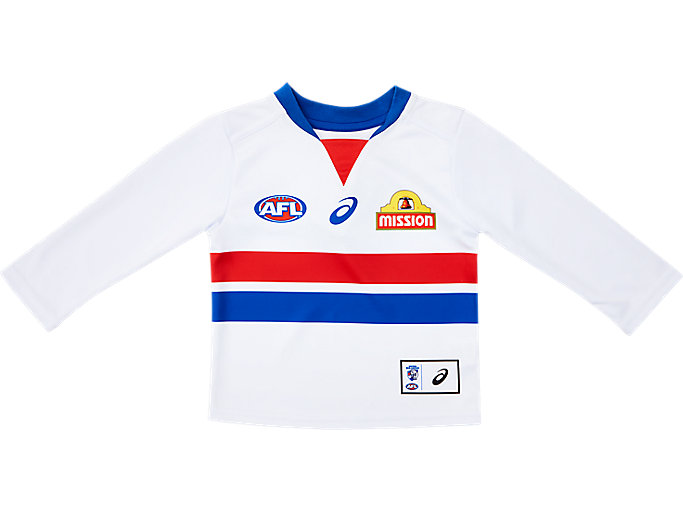 Alternative image view of WESTERN BULLDOGS REPLICA CLASH GUERNSEY LONG SLEEVED INFANT