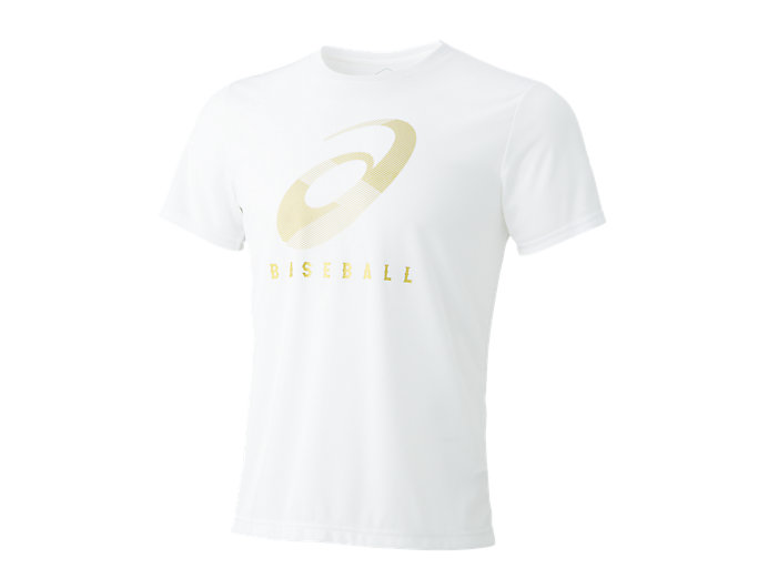 Front Top view of グラフィックTシャツ, ホワイトA