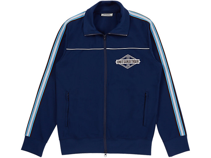 Alternative image view of TRACK TOP, PEACOAT