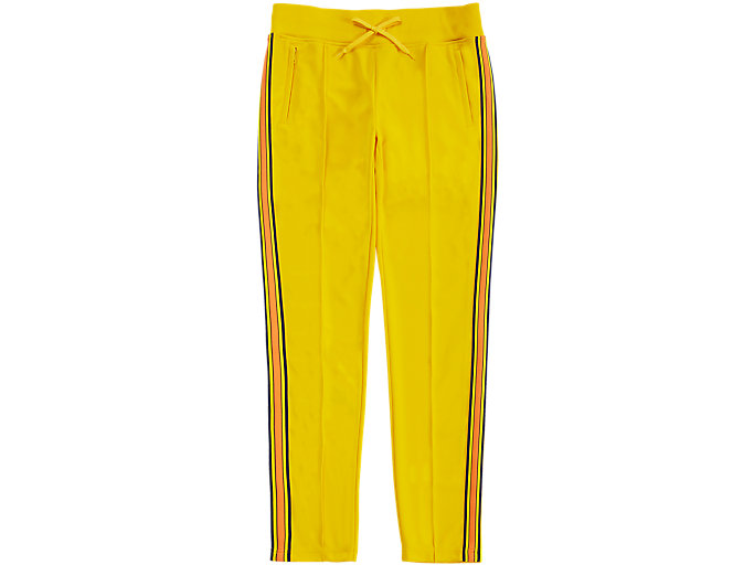 Alternative image view of TRACK PANT, TAI-CHI YELLOW