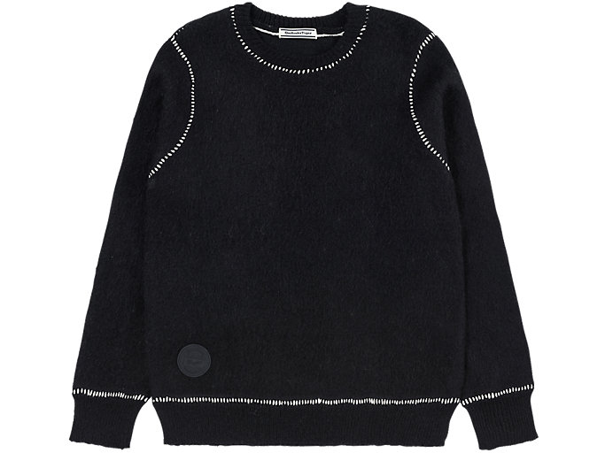 Alternative image view of KNIT TOP, PERFORMANCE BLACK