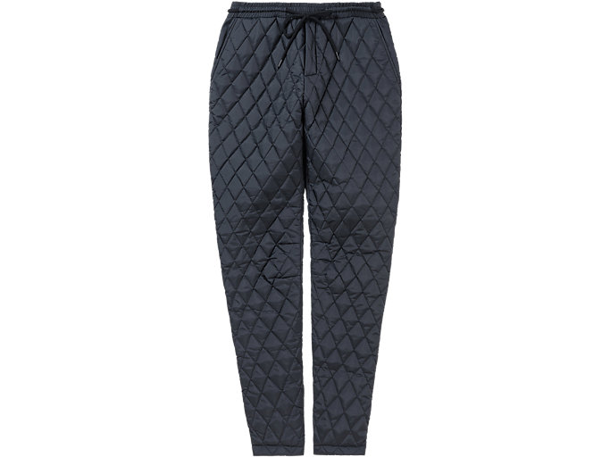 Alternative image view of QUILTED PANT, PERFORMANCE BLACK