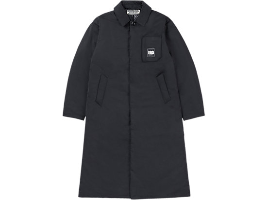 LONG PADDED COAT BLACK