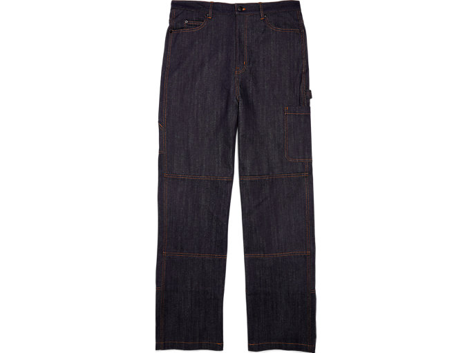 Front Top view of DENIM CARGO PANT