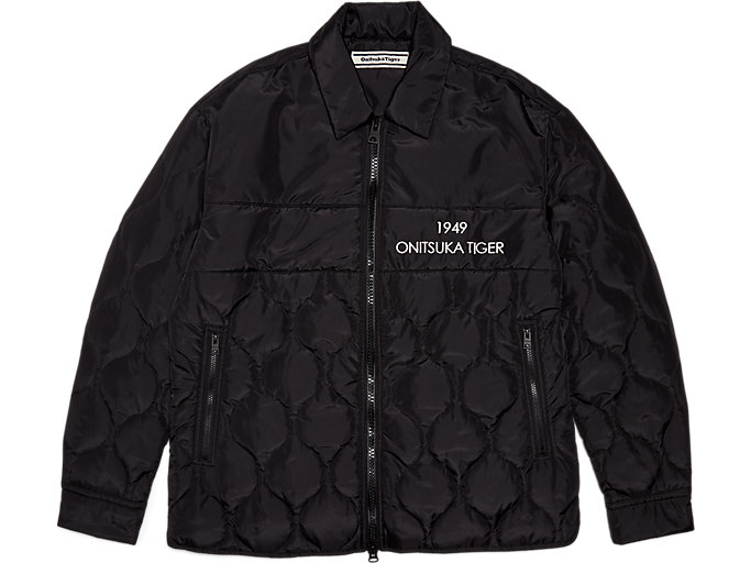 Front Top view of EMB SHIRT JACKET
