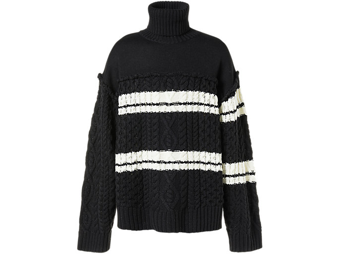 Alternative image view of TURTLE KNIT, Performance Black/Ivory