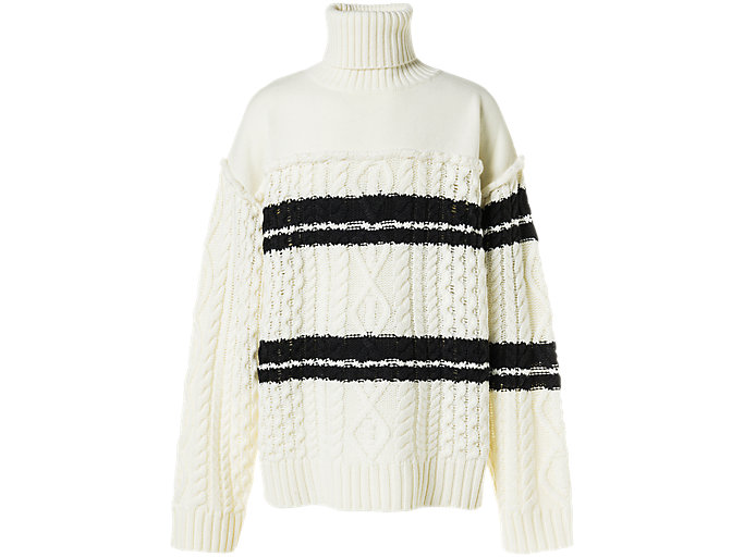 Alternative image view of TURTLE KNIT, IVORY/PERFORMANCE BLACK