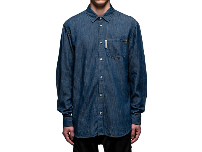 Alternative image view of DENIM SHIRT, PEACOAT