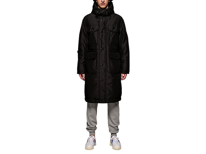 Alternative image view of LONG DOWN COAT