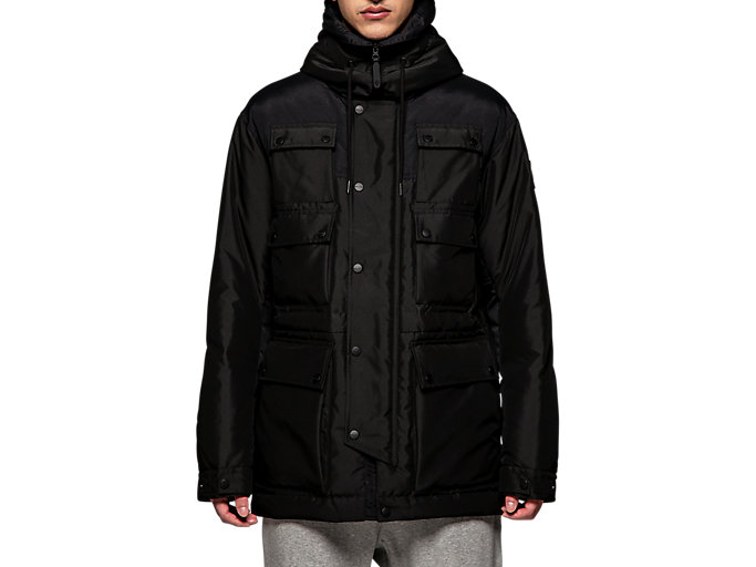 Alternative image view of DOWN COAT, Performance Black