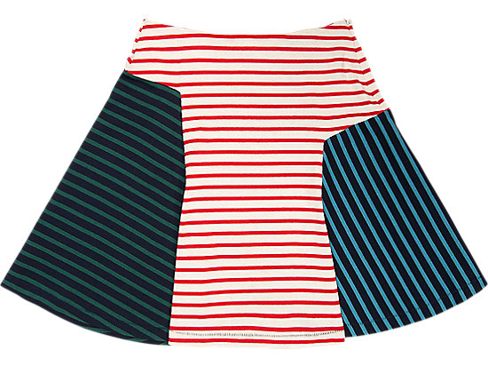 WS SKIRT RED/NAVY