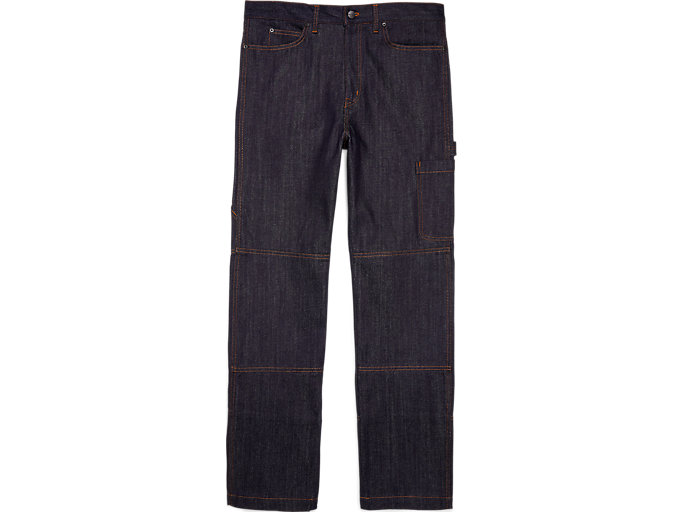 Front Top view of WS DENIM CARGO PANT
