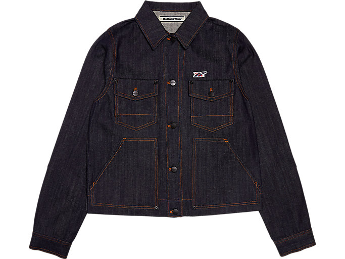 Alternative image view of WS DENIM JACKET, Peacoat