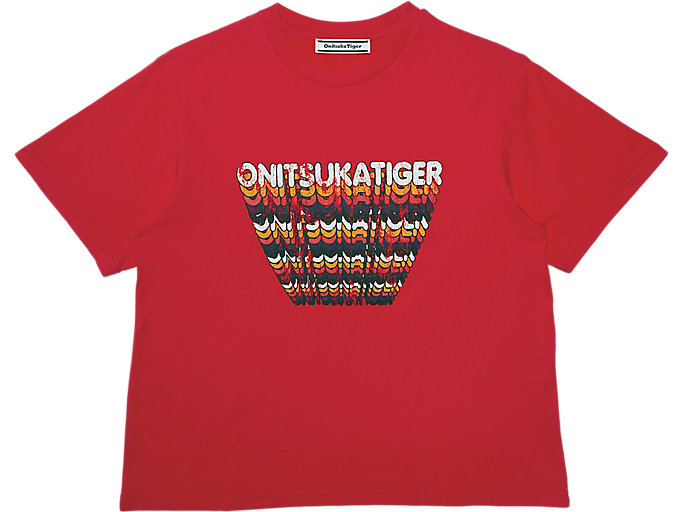 Alternative image view of WS GRAPHIC TEE, Fiery Red