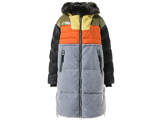 Alternative image view of WS LONG DOWN COAT, Huddle Yellow