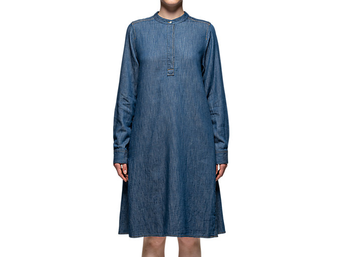 Alternative image view of WS DENIM DRESS, Peacoat