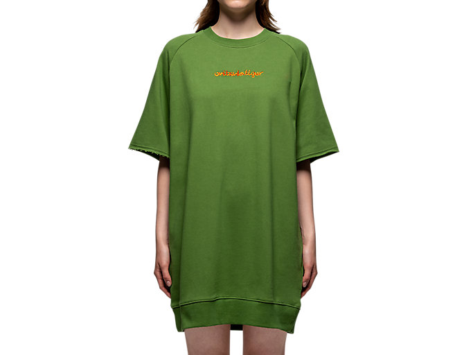 Alternative image view of WS DRESS, Moss/Habanero