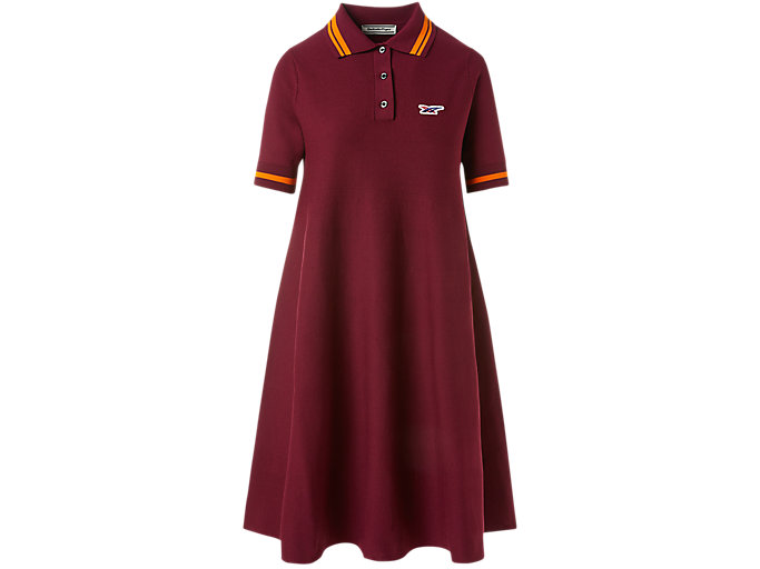 Alternative image view of WS KNIT POLO DRESS